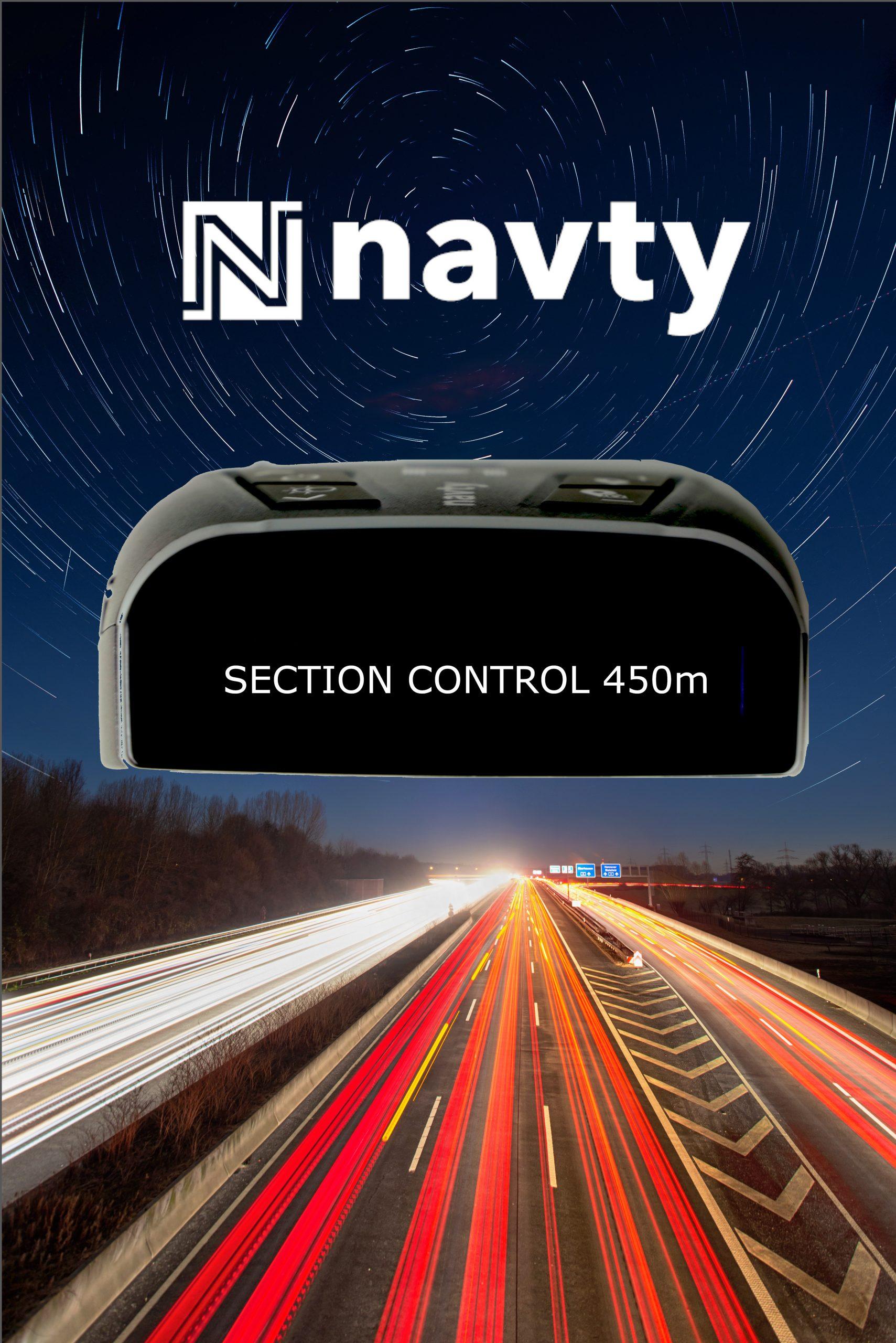 NAVTY P1 Avertissement de contrôle de la section