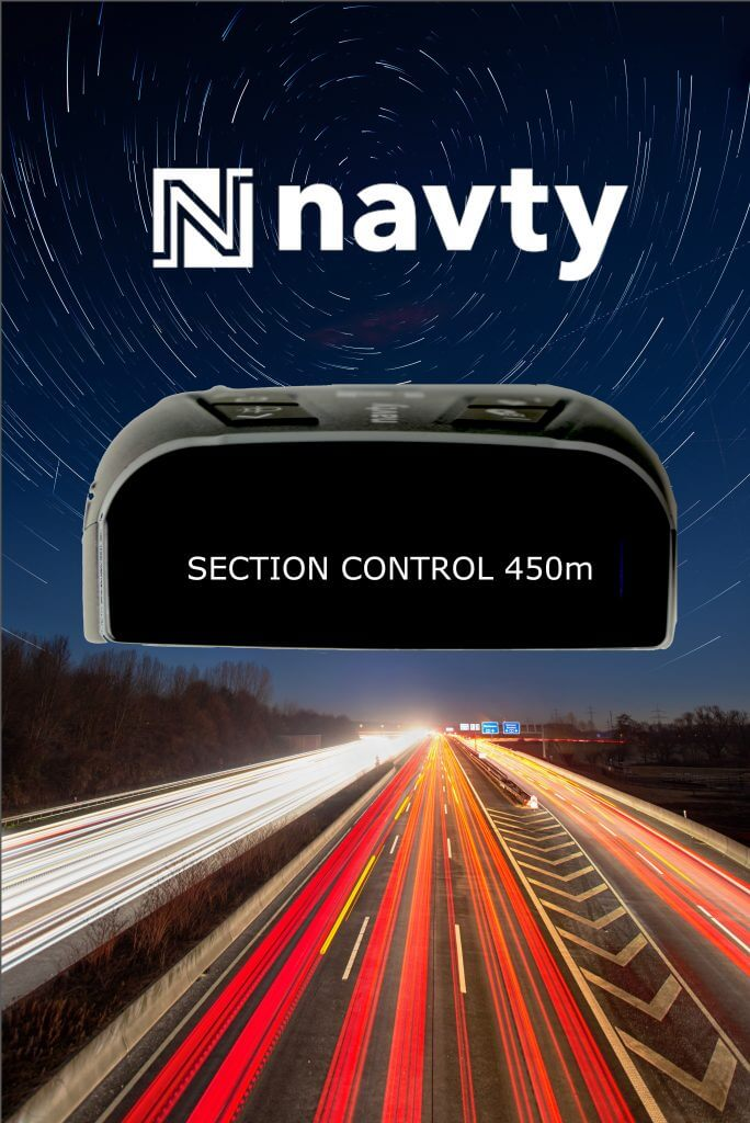NAVTY P1 Section control warnung