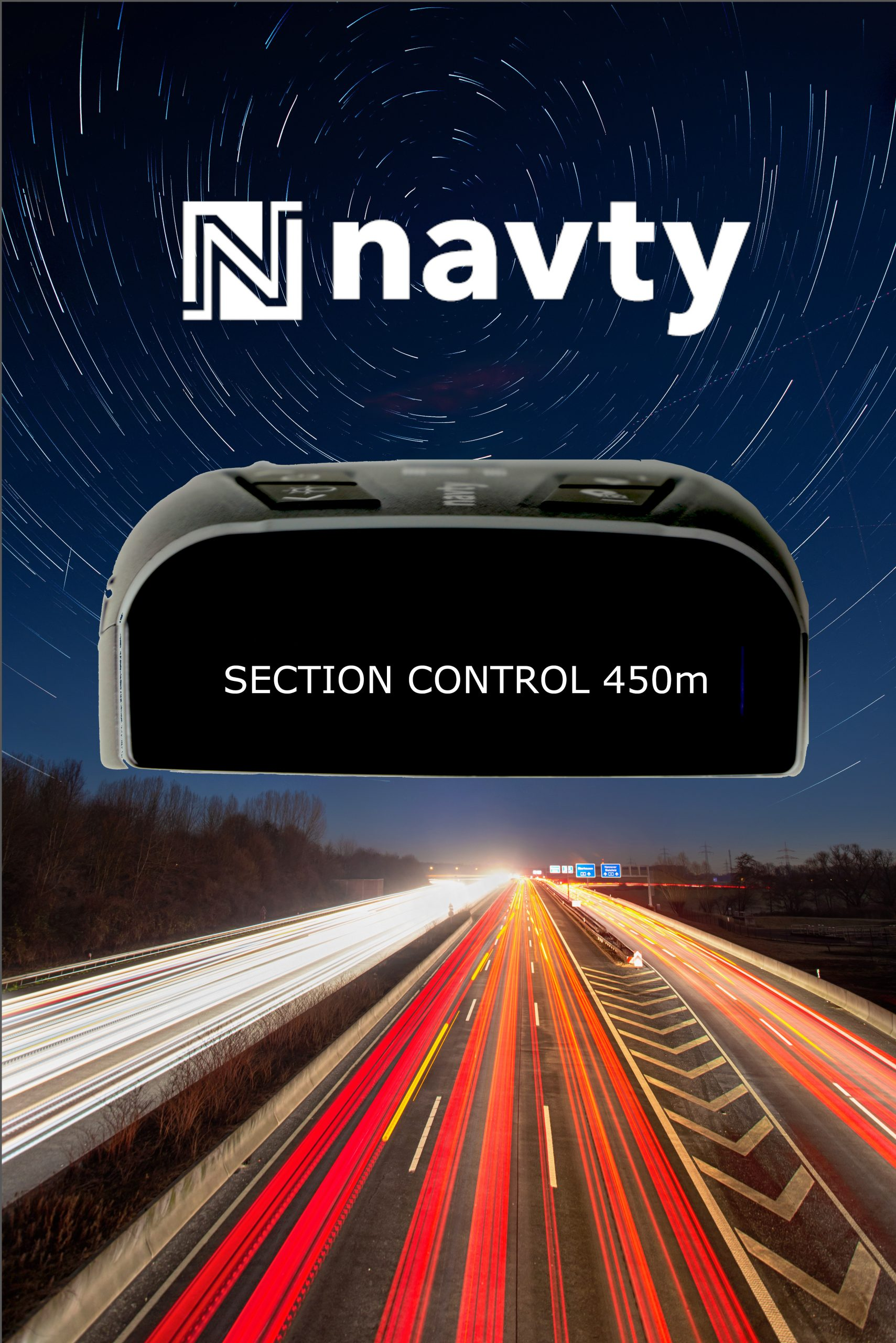 NAVTY P1 & Section Control radar detector
