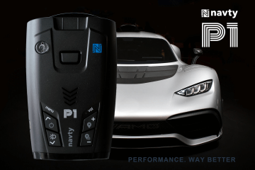 navty p1 performance radar detector